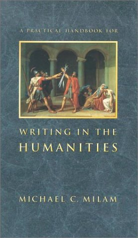 Practical Handbook for Writing in the Humanities   2003 edition cover