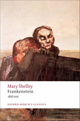 Frankenstein 1818 Text  2008 edition cover