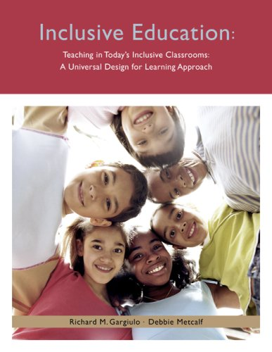 Teaching in Today's Inclusive Classrooms A Universal Design for Learning Approach  2010 edition cover