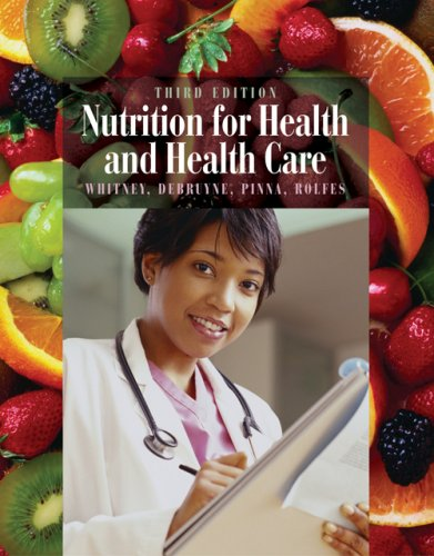 Nutrition for Health and Health Care  3rd 2007 (Revised) 9780495125150 Front Cover