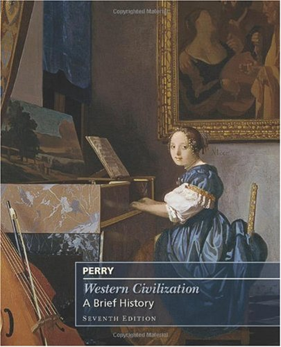 Western Civilization A Brief History, Complete 7th 2011 edition cover