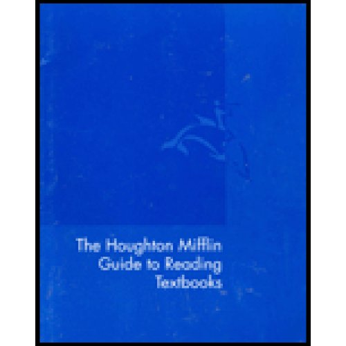 Houghton Mifflin Guide to Reading Textbooks  3rd 2002 9780618131150 Front Cover