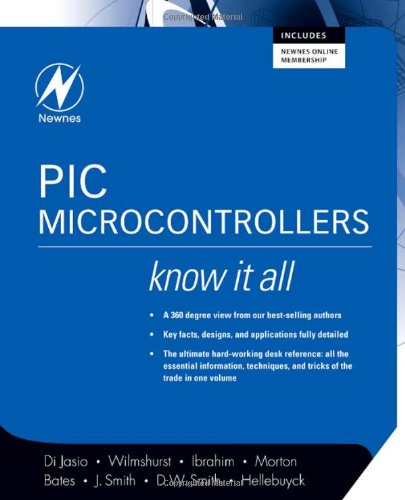 PIC Microcontrollers   2008 9780750686150 Front Cover