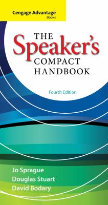 Speaker's Compact Handbook  4th 2014 9780840028150 Front Cover