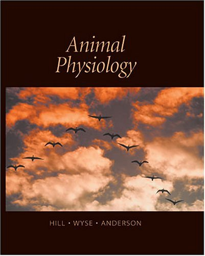 Animal Physiology  2nd 2004 edition cover