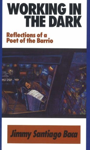 Working in the Dark Reflections of a Poet of the Barrio  1991 edition cover