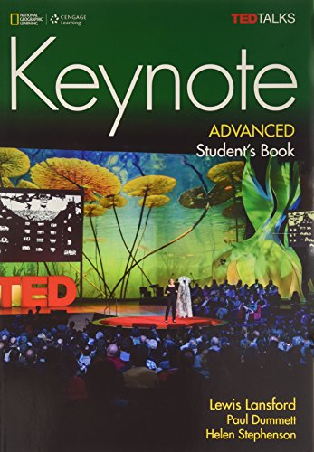 Keynote Advanced:   2015 9781305399150 Front Cover
