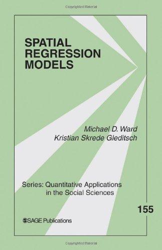 Spatial Regression Models   2008 edition cover