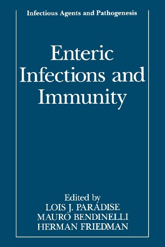 Enteric Infections and Immunity   1996 9781489903150 Front Cover