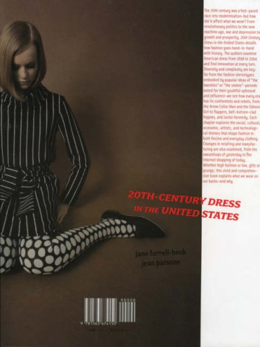 20th Century Dress in the United States   2006 edition cover