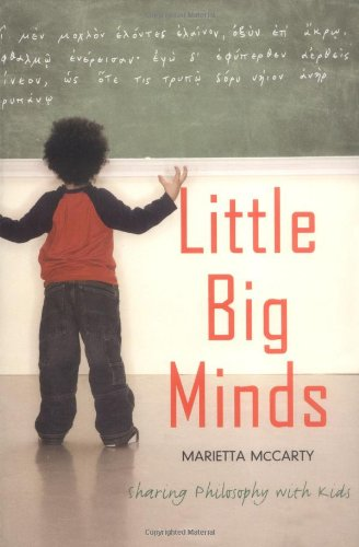 Little Big Minds Sharing Philosophy with Kids  2006 edition cover
