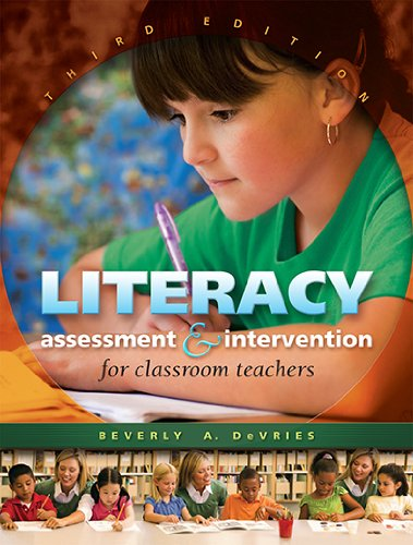 Literacy Assessment and Intervention for Classroom Teachers:  3rd 2011 (Revised) edition cover
