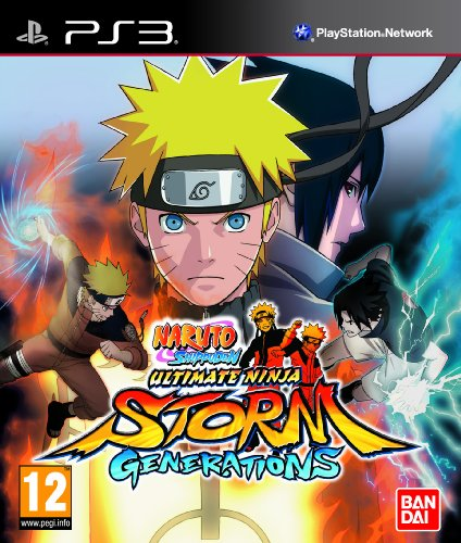 Namco Bandai Naruto Shippuden: Ultimate Ninja Storm - Generations (Ps3) PlayStation 3 artwork