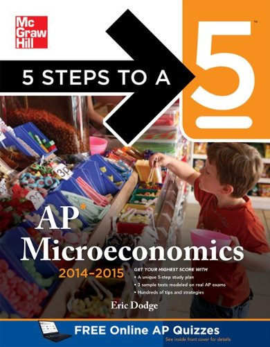 5 Steps to a 5 AP Microeconomics, 2014-2015 Edition   2013 edition cover