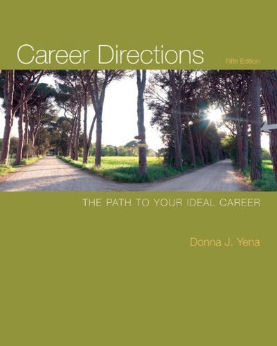 Career Directions The Path to Your Ideal Career 5th 2011 edition cover
