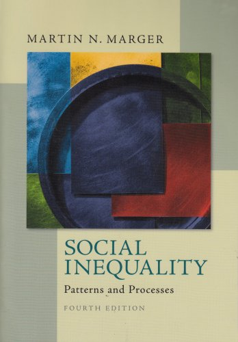 Social Inequality Patterns and Processes 4th 2008 edition cover