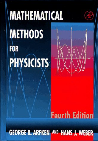 Mathematical Methods for Physicists  4th 1995 9780120598151 Front Cover