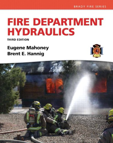 Fire Department Hydraulics  3rd 2013 (Revised) edition cover