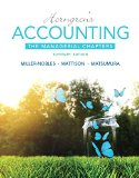 Horngren's Accounting The Managerial Chapters 11th 2016 edition cover