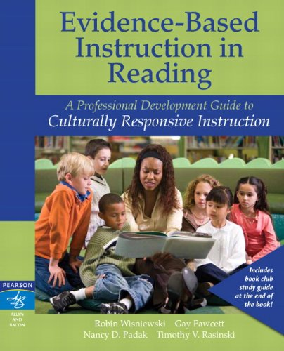 Evidence-Based Instruction in Reading A Professional Development Guide to Culturally Responsive Instruction  2012 edition cover