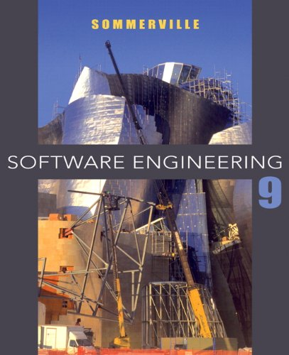 Software Engineering  9th 2011 edition cover
