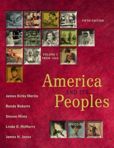 America and Its Peoples  5th 2004 (Revised) edition cover