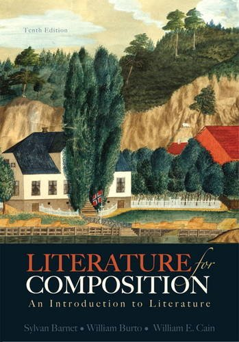 Literature for Composition An Introduction to Literature 10th 2014 edition cover