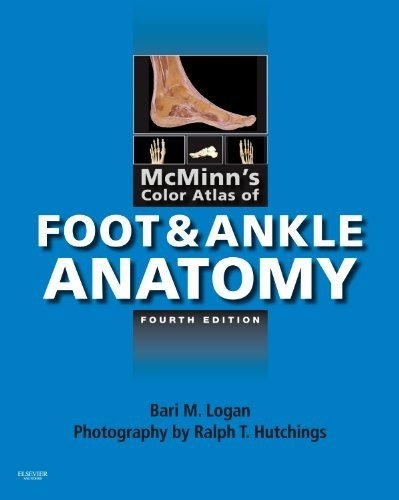 McMinn's Color Atlas of Foot and Ankle Anatomy  4th 2011 edition cover