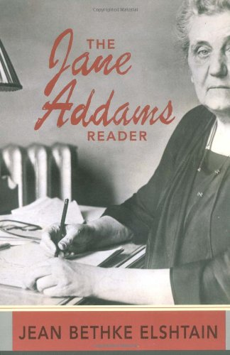 Jane Addams Reader   2001 edition cover