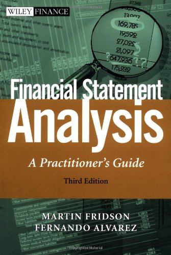 Financial Statement Analysis A Practitioner's Guide 3rd 2002 (Revised) 9780471409151 Front Cover