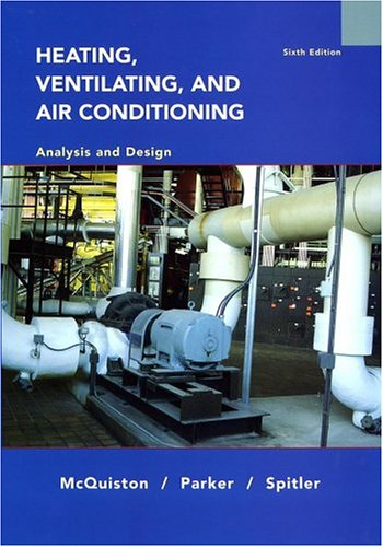 Heating, Ventilating, and Air Conditioning Analysis and Design 6th 2005 (Revised) edition cover