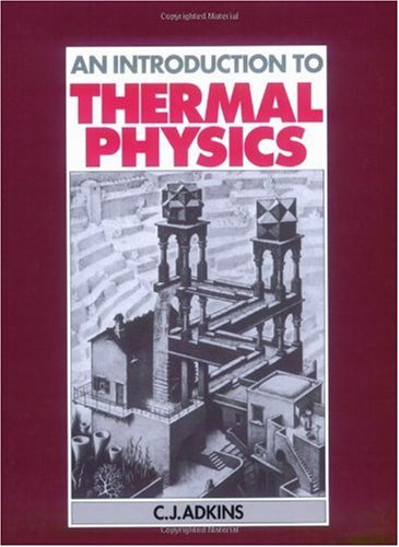 Introduction to Thermal Physics  2nd 1987 edition cover