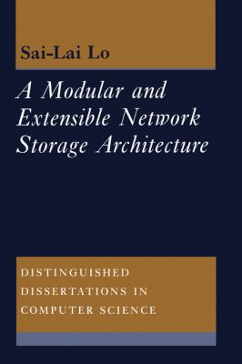 Modular and Extensible Network Storage Architecture   1995 9780521551151 Front Cover