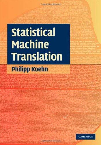 Statistical Machine Translation   2009 edition cover