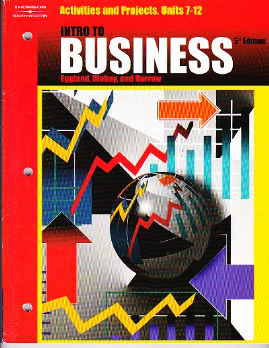 Intro to Business  5th 2004 9780538436151 Front Cover