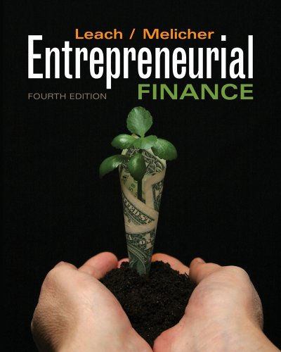 Entrepreneurial Finance  4th 2012 edition cover