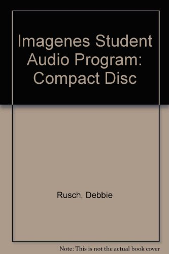 Student Audio Program : Used with ... Rusch-Imágenes  2003 9780618134151 Front Cover