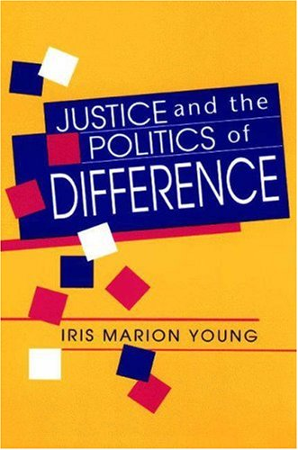 Justice and the Politics of Difference   1990 edition cover