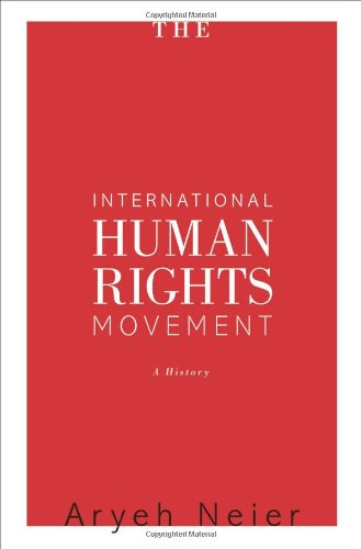International Human Rights Movement A History  2012 edition cover