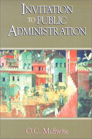 Invitation to Public Administration   2002 edition cover