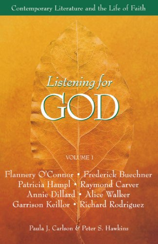 Listening for God Reader Contemporary Literature and the Life of Faith N/A edition cover