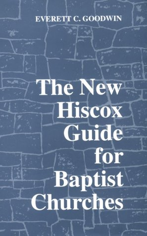 New Hiscox Guide for Baptist Churches  N/A edition cover
