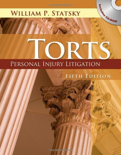 Torts Personal Injury Litigation (Book Only) 5th 2011 edition cover