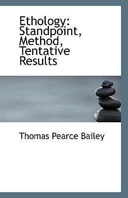 Ethology : Standpoint, Method, Tentative Results N/A 9781113357151 Front Cover