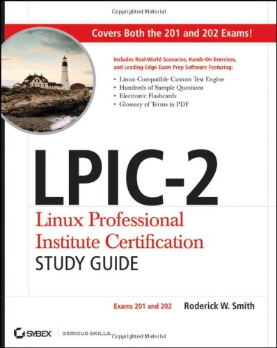LPIC-2 Linux Professional Institute Certification Exams 201 and 202  2011 edition cover