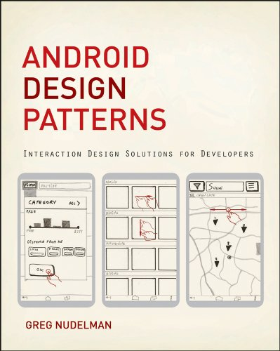 Android Design Patterns Interaction Design Solutions for Developers  2013 edition cover