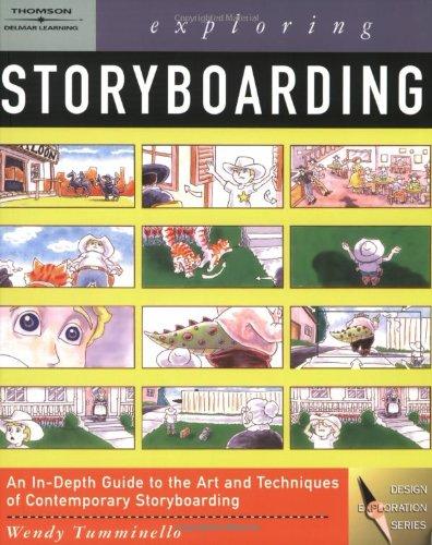 Exploring Storyboarding   2005 9781401827151 Front Cover