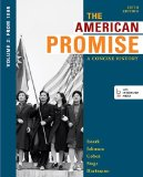 American Promise A Concise History - From 1865 5th 2014 edition cover
