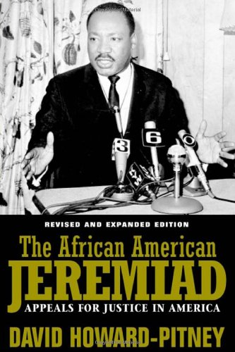 African American Jeremiad Appeals for Justice in America 2nd 2005 (Revised) edition cover