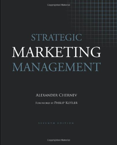 Strategic Marketing Management 7th 0 edition cover